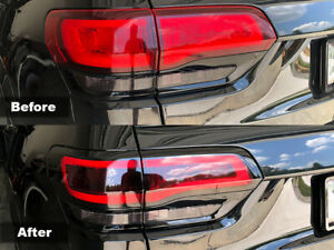 Crux Moto Tail Light Tint Overlay 20 Air Release Fits Jeep Grand Cherokee 2014