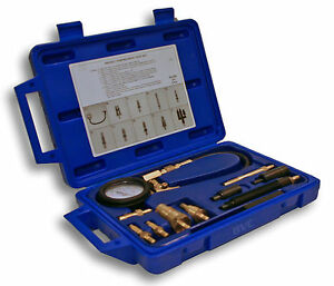 Us Made Diesel Compression Tester Kit American German And Japanese Cars Autos