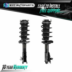2pc Front Strut W Coil Spring Assembly For 2006 2011 Honda Civic Sedan Exc Si