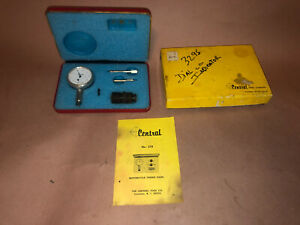 Central Tool Company Motorcycle Timing Gauge No 278 new Old Stock