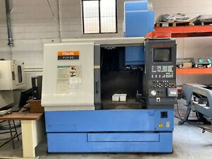 Used Mazak Fjv 20 Cnc Vertical Machining Center Mill Mazatrol Plus 12 000 R