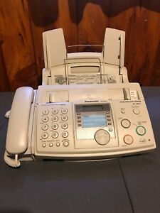 Panasonic Kx fhd331 Fax Machine Copier Plain Paper Caller Id Telephone Used