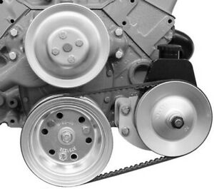 Alan Grove Components 400l Power Steering Pump Bracket Kit For Small Block Chevy