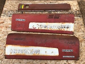 Farmall International 300 350 Utility Tractor Hood Set