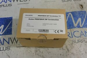 New Procentec Profibus Dp Terminator T1 24v Non Ex Redundant Power Supply