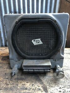 72 Vtg Buick Sonomatic Push Button Car Radio Hot Rat Rod