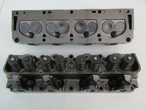 Ford Fe 352 390 406 427 Nice Orig Pair Of Matching 14 Bolt C6ae R Cylinder Heads