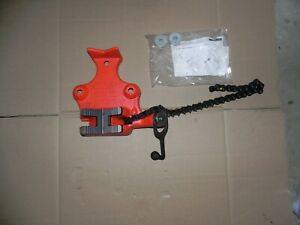 New Ridgid 40215 Bc810a 1 2 To 8 Top Screw Bench Chain Vise
