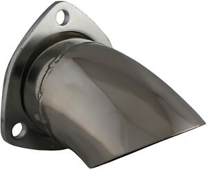 Qtp Qtp 11300 3 Polished Stainless Exhaust Tip Turndown Adjustable 11300