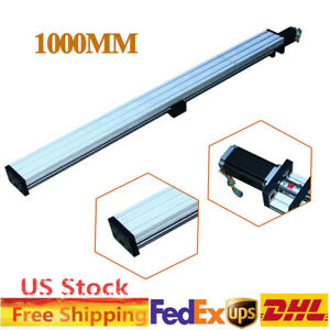 Thk90 Sliding Table Cnc Linear Slider Stepping Motor Ball Screw 1605 1000mm Us