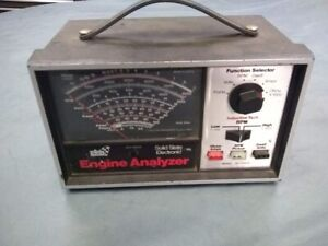 Antique Engine Analyzer Tune Up Sears