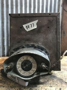 77 Vtg Chevy 1934 Push Button Car Radio Hot Rat Rod