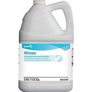 Diversey Wiwax Cleaning Maintenance Emulsion 1 Gallon 4 ct