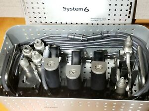 Stryker System 6 General Orthopedic Surgical Kit 6295 6298 6296 6203 Excellent