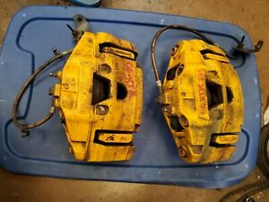 2006 2007 2008 2009 Jaguar S Type R Xjr Supercharge Front Brake Calipers
