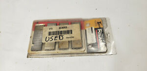 4 piece Ridgid 47765 1 2 To 3 4 Npt Hs Pipe Dies For Pipe Threader Tool Used