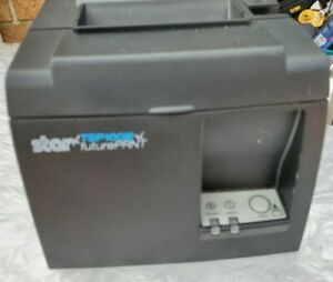 Star Micronics Tsp Series Thermal Receipt Printer Black