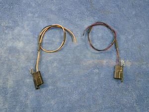 65 66 67 68 69 Chevelle Camaro Stereo Radio 8 Track Kick Panel Speaker Wires