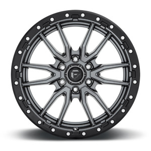 20x9 Fuel D680 Rebel Gray Wheels Rims 33 At Tires Package 5x150 Toyota Tundra