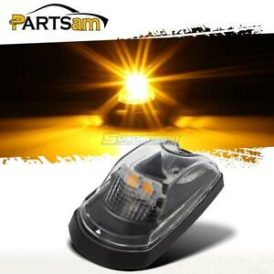 Clear Lens Amber Led Cab Roof Light Lamp For Ford F250 F350 2017 2019 Super Duty