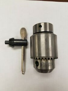 Jacobs Tapered Mount Drill Chuck Jt33 0 To 13mm 0 To 1 2 34 33c Surplus New