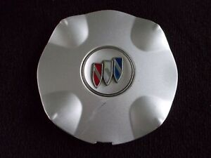00 01 02 03 Buick Park Avenue Silver Alloy Wheel Center Cap 9593517
