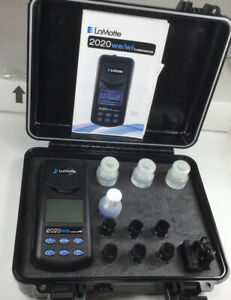 Lamotte Portable Turbidity Meter 2020we W Carrying Case Complete Kit