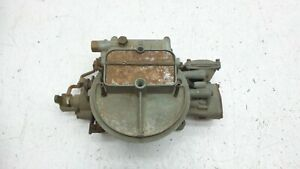 Holley 2bbl Carb Carburetor List 4310 For Parts Or Rebuild