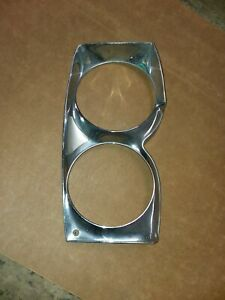 1965 Mercury Comet Headlight Bezel Passenger Side Right Side