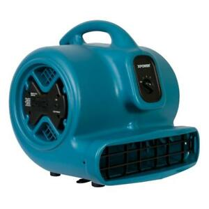 Xpower P 600a 1 3 Hp Air Mover With Build in Power Outlets