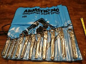 Armstrong 11 Piece 12 Point Ratcheting Flare Nut Wrench Set 3 8 1