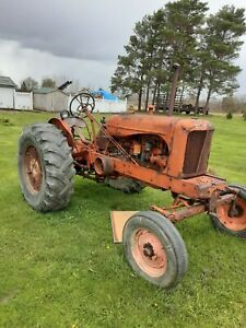 Allis Chalmers Wd Tractor Wide Frontend