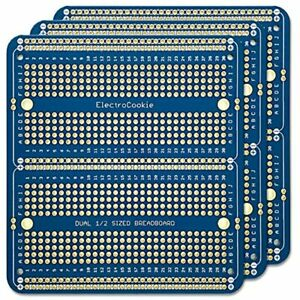 Solderable Breadboard Pcb Double Column Board Arduino And Electronics Projects