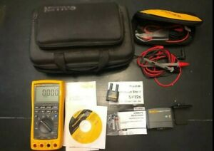 Fluke 789 Processmeter With Genuine Fluke Lead Set Irc3000 Sv225 Bundle
