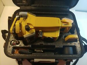 Topcon Gts 235w Surveying Total Station With Charger Battery Data Cable Ect