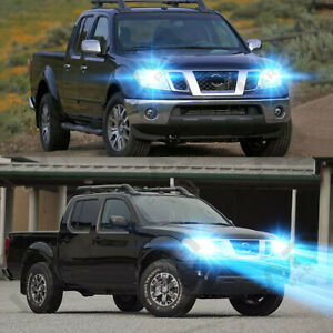 For Nissan Frontier 2005 2018 2pc 8000k Led Headlight Kit High Low Beam Bulbs