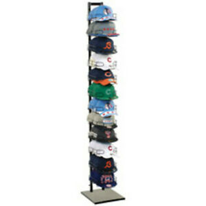 Black 120 Hat Display 12 Tier 73 H X 12 5 W X 14 5 D Inch