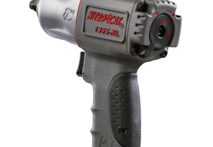 Nitrocat 1355 xl 3 8 inch Composite Air Impact Wrench With Twin Hammer Mechan