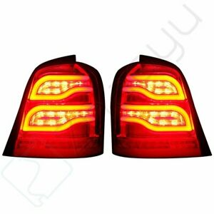 For 2001 2007 Toyota Highlander Led Tail Lights Rear Lamp Tailight Benz Style