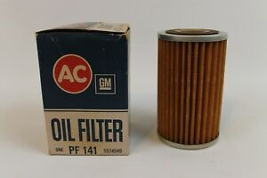 1958 67 Nos Corvette Ac Pf 141 Oil Fiter Gm Chevy Fits Many Cars