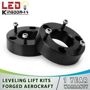 2 5 Front Leveling Spacers Lift Kit For 07 18 Chevy Silverado Gmc Sierra 1500
