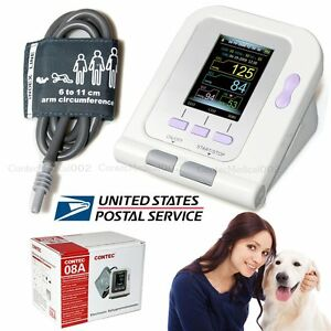 Animal pets Digital Blood Pressure Monitor Veterinary Sphygmomanometer Color Usa