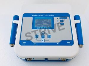 Chiropractic Portable Ultrasound Therapy Physical Machine 1 3mhz Frequency Unit
