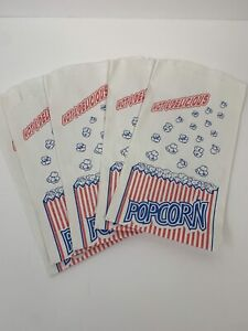 50 Duro Popcorn Bags 1 5 Oz Commercial Use Home Theater Party Movie