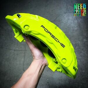 Porsche Panamera Cayenne Turbo Calipers Brembo Front Rear Oem Refinished