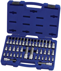 Carlyle Tools By Napa Bsth41 41 Pc Master Star Hex Bit Socket Set