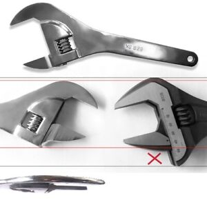 V8 629 Super Thin Adjustable Wrench Clearance