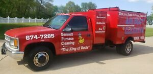 Pringles Power Vac air Duct Cleaning Truck