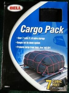 Nib Bell Car Roof Top Cargo Carrier Bag Cargo Pack With Bungee Net