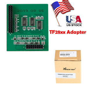 Us Ship Xhorse Tf28xx Adapter For Vvdi Prog Programmer Can Read Chip Model